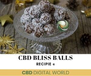 CBD Bliss ball recipe