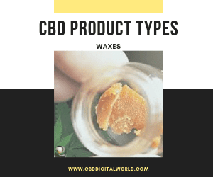 Product Type CBD Waxes