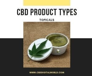 Product Type CBD Topicals